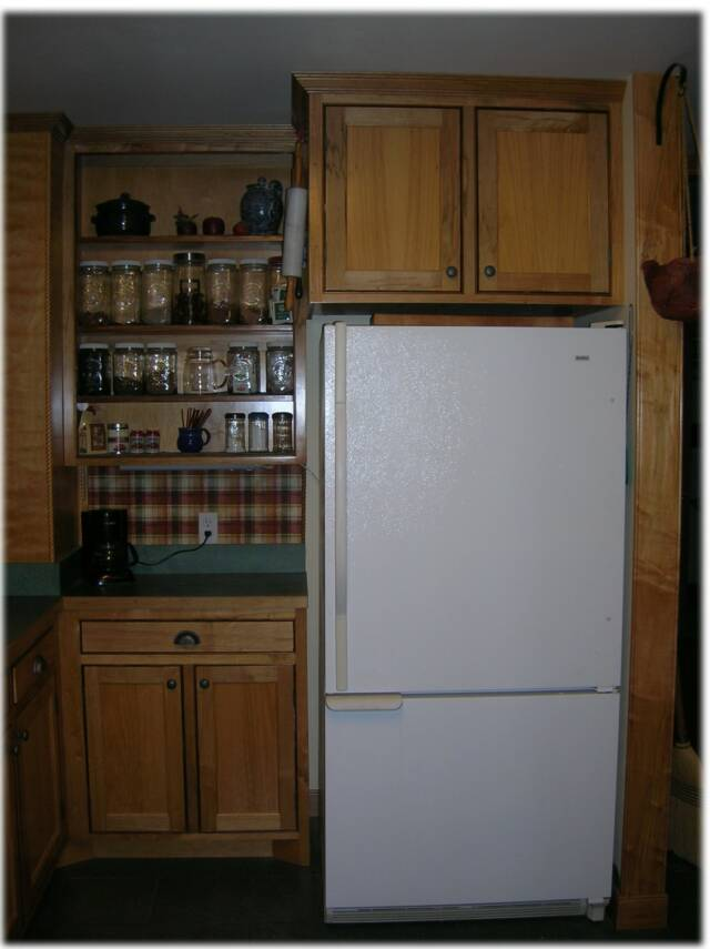 Red Maple Kitchen Cabinets